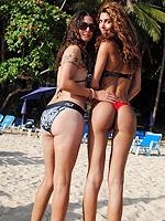 Nicole & Bruna in Thailand