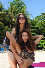 Phuket Beach with Bruna Geneve
