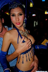 Ladyboy Bar in Phuket Beach, Thailand